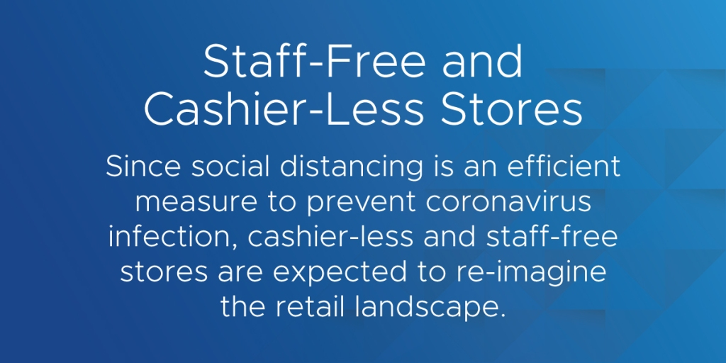 retail tech trends staff free and cashier-less stores