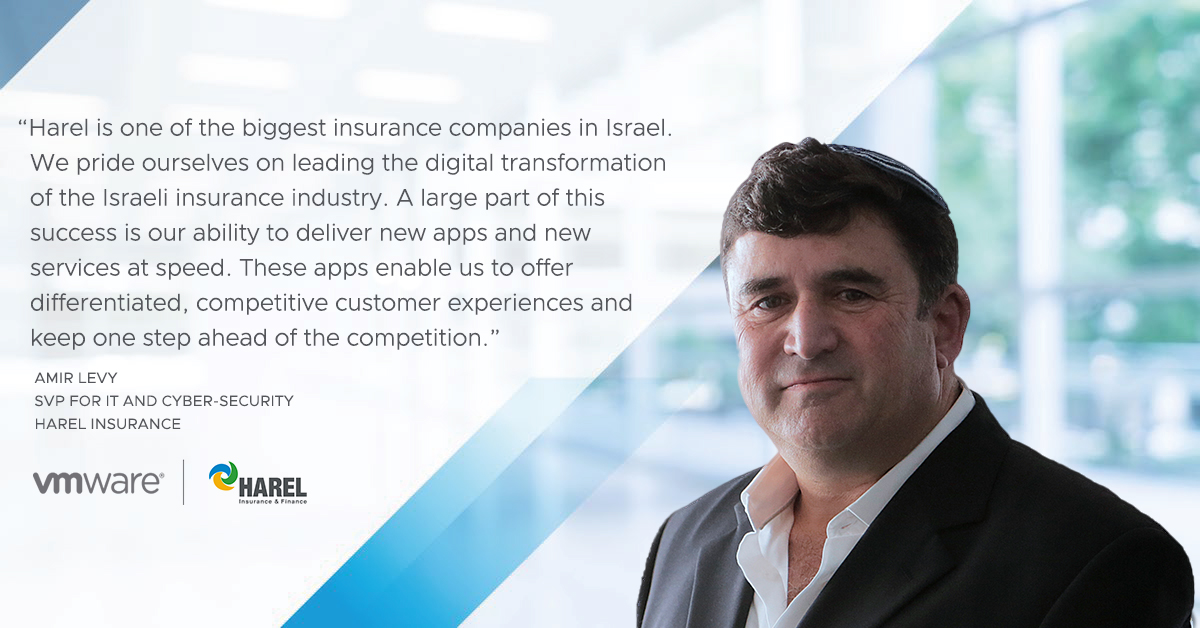 business_agility_app_delivery_speed_Harel_Insurance