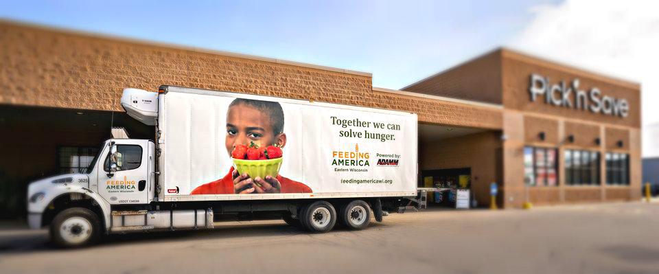 Feeding America Eastern Wisconsin truck