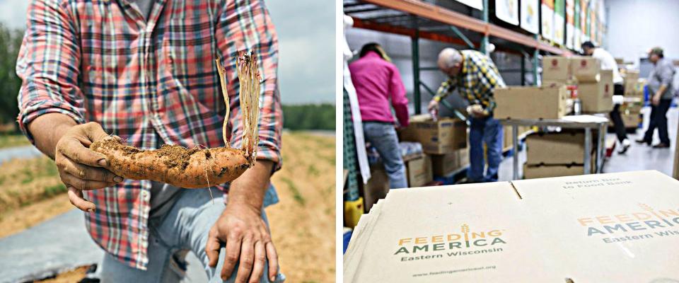 Tracing Farm-to-Warehouse Food
